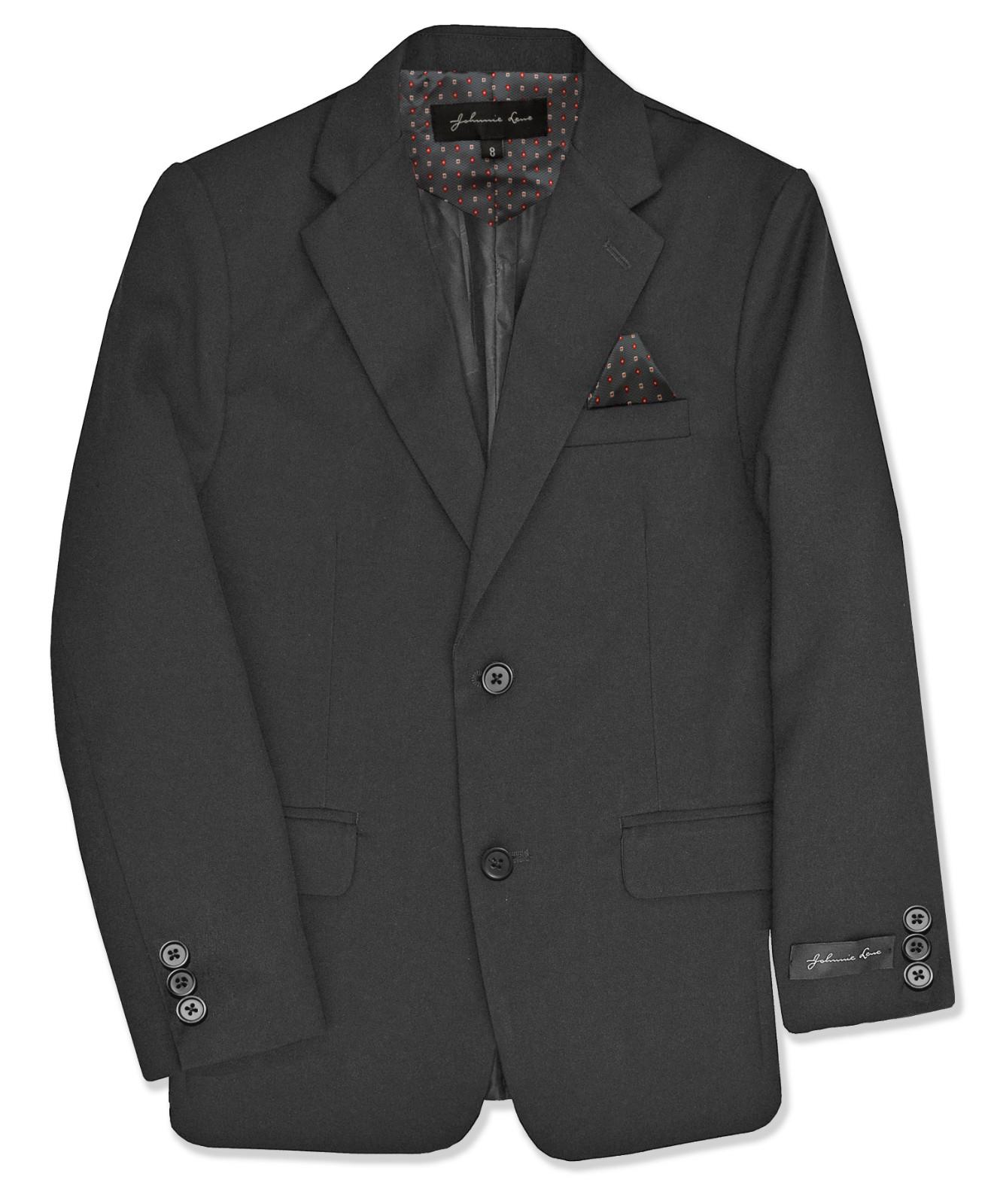 Johnnie Lene Dress Up Boys Blazer Jacket JL30