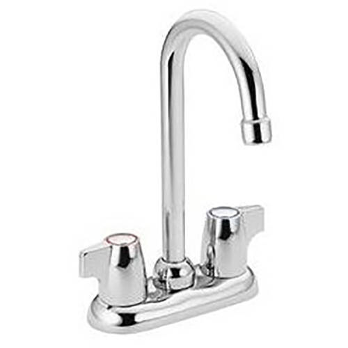 Moen 4903 Chateau Double Handle Bar Faucet, Available in Various Colors