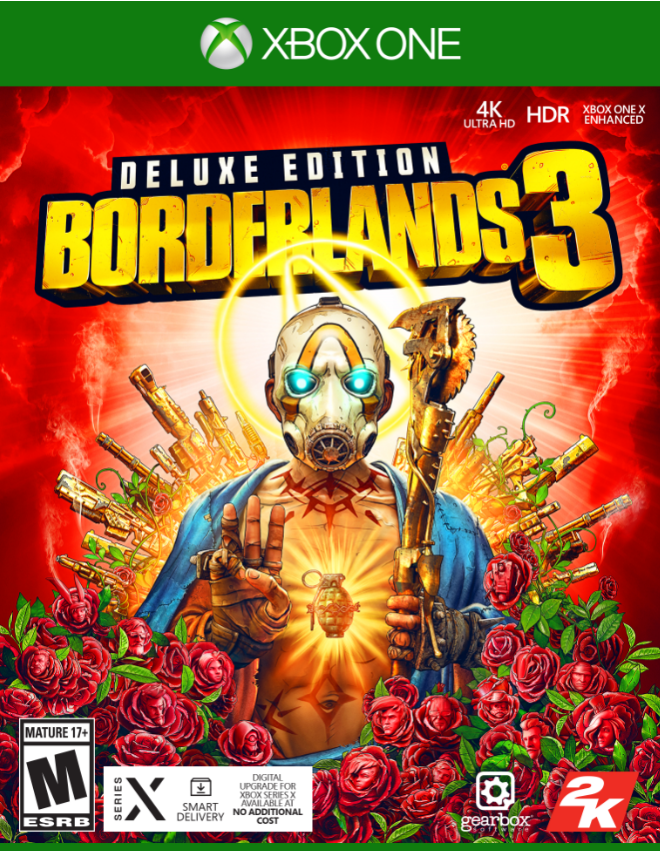 Borderlands 3, Deluxe Edition, 2K, Xbox One, 710425594960