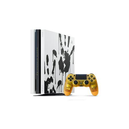 PlayStation 4 Pro 1TB Limited Edition Death Stranding Console Bundle