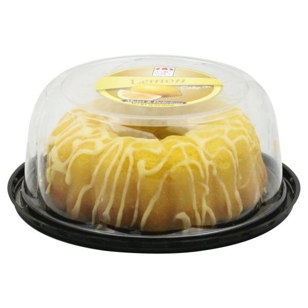 Cafe Valley Lemon Cake 16 Oz Walmart Com Walmart Com
