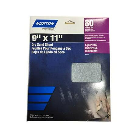 Ali Industries 50402-038 3PK 9x11 120G Sandpaper