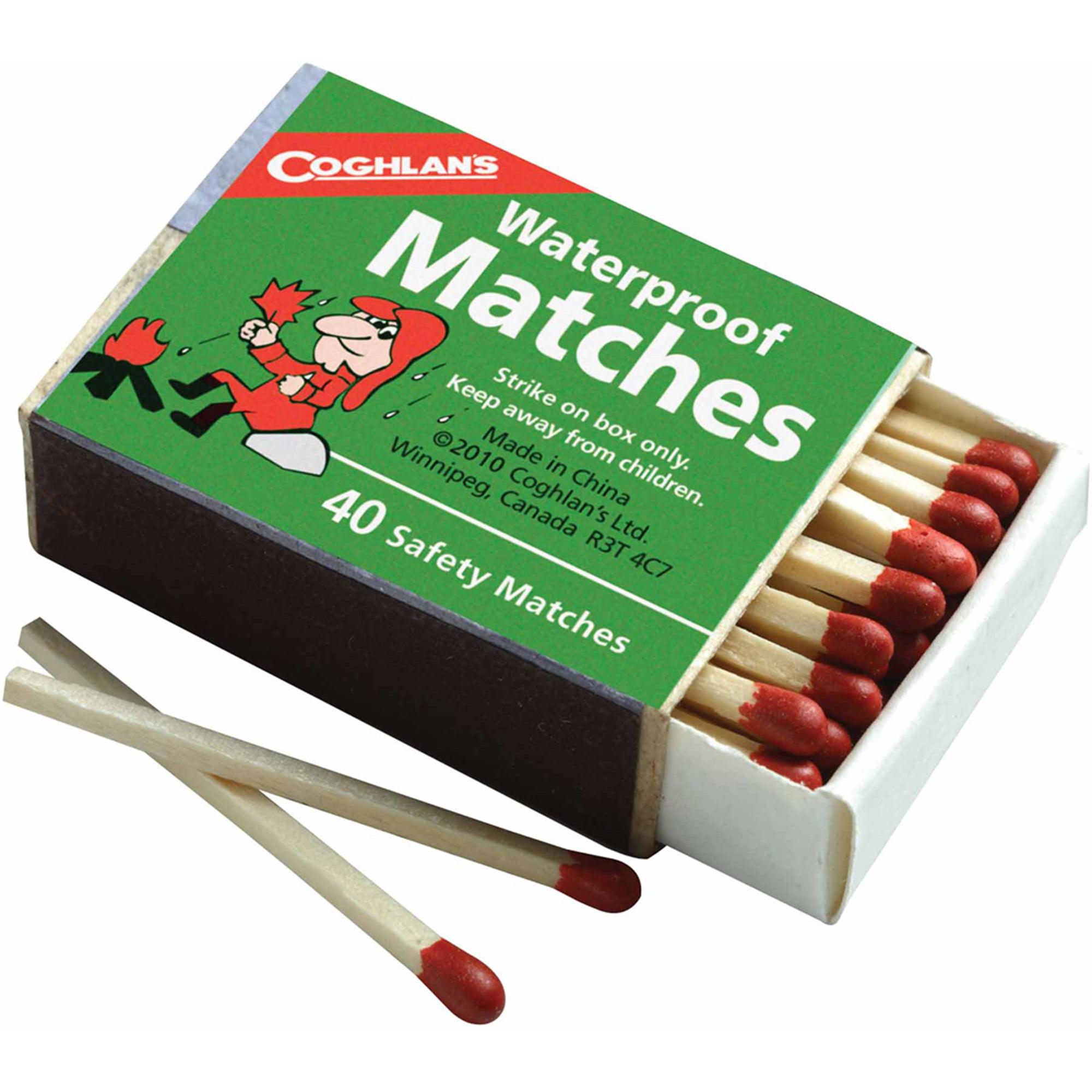 Coghlan's 940BP Waterproof Matches, 4pk