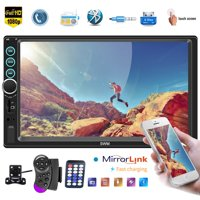 """7"""" Car Multimedia Player 2 Din Android Autoradio Car Radio Stereo Audio Media MP5 Player with IOS/Android Mirror Link + 4 LED Camera"""