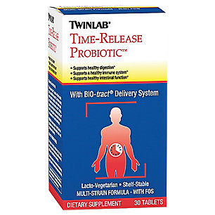 Twinlab 1250323 Time-Release Probiotic 30 Tablets
