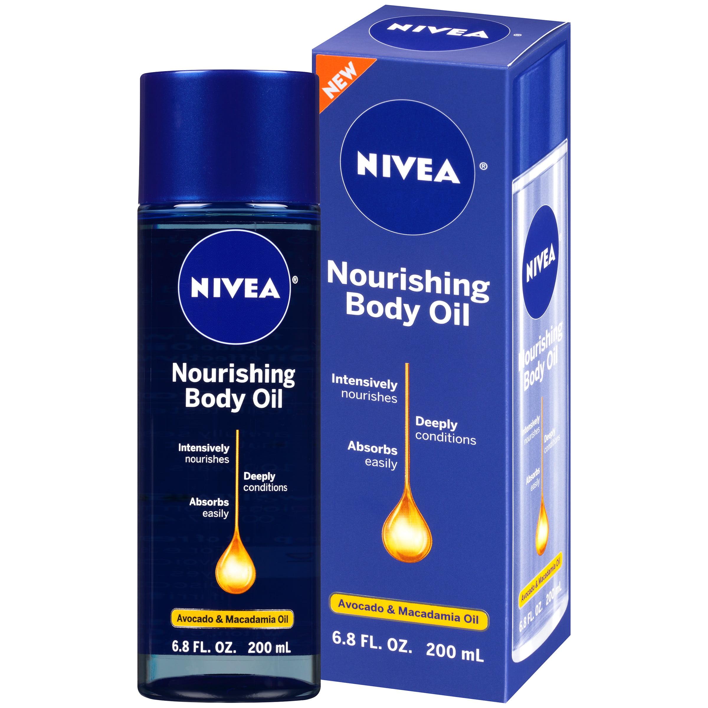 NIVEA Nourishing Body Oil 6.8 fl. oz. - Walmart.com