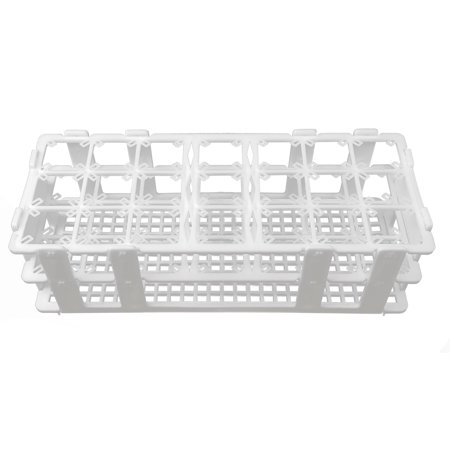 GSC International TTRK-25 Test Tube Rack - 21 Hole Rack for up to 25mm Tubes (Test Tube Rack Metal)