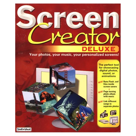 Screen Creator Deluxe 7 for Windows PC- XSDP -PRMSC7 - Create impressive, animated screen savers in minutes using your digital photos, images, and audio files. Screen Creator Deluxe requires no a ()