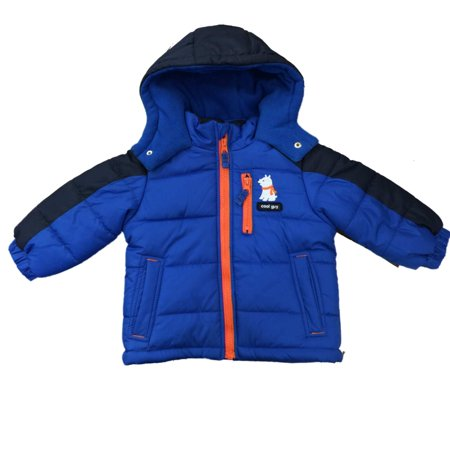 carters carters infant boys blue polar bear cub coat. Black Bedroom Furniture Sets. Home Design Ideas