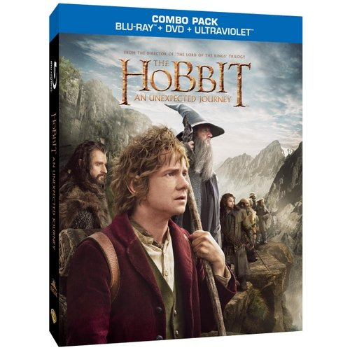 The Hobbit: An Unexpected Journey (Blu-ray + DVD)