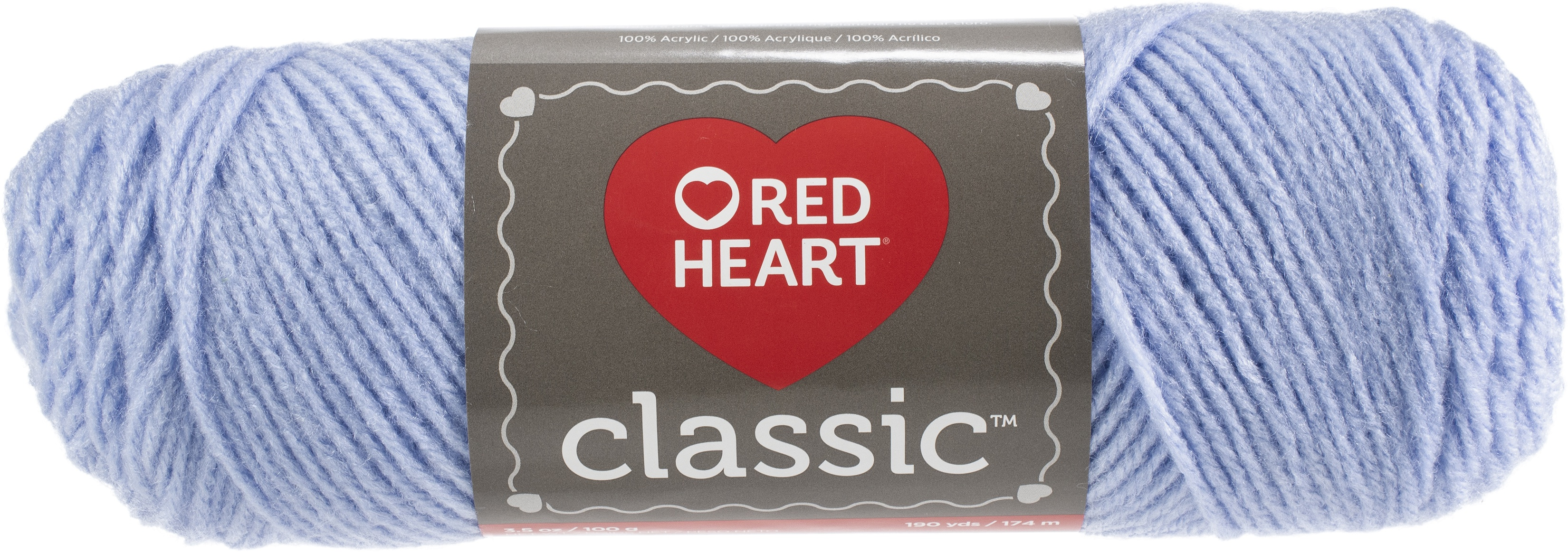 Red Heart Classic Yarn-Blue Jewel