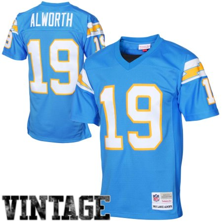 c00bad96 Lance Alworth San Diego Chargers Mitchell & Ness 1963 Retired Player  Vintage Replica Jersey - Powder Blue