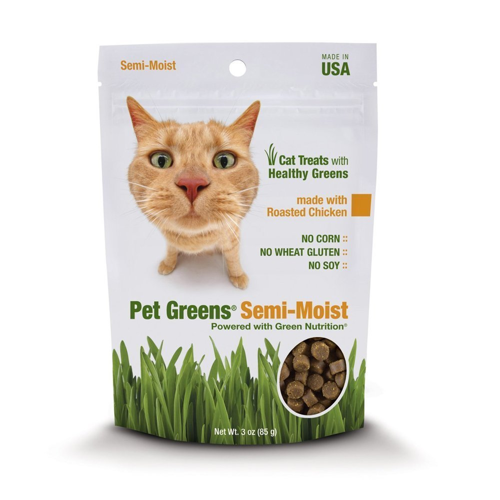 Bellrock Growers Pet Greens Semi-Moist Chicken Treat [2-Pack], 2 Pack of chicken cat treats By Bell Rock Growers