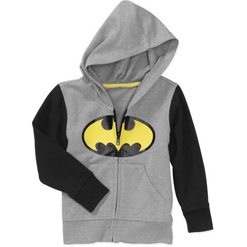 Baby Boys' Batman Hooded Zip Up Fleece