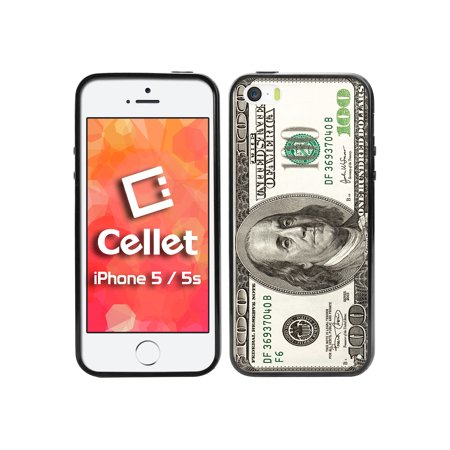 Dollar Bill Cake (Cellet TPU / PC Proguard Case with One Hundred Dollar Bill for Apple iPhone 5 &)