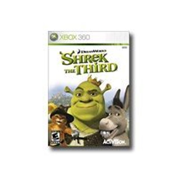 Shrek The Third Xbox 360 Walmart Com Walmart Com