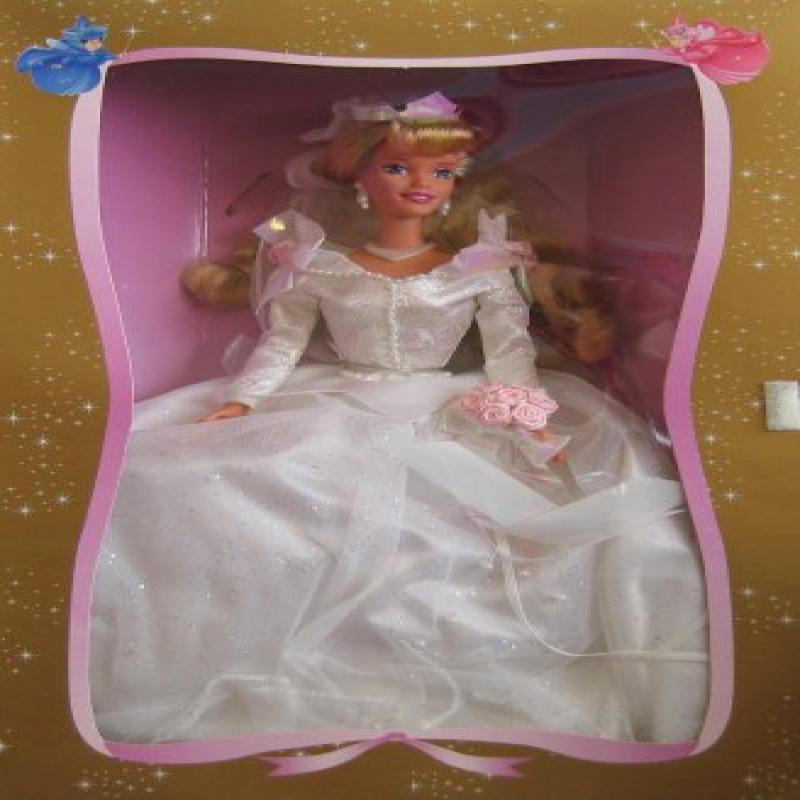 Walt Disney Sleeping Beauty Wedding Doll 2nd in Series (1997 Mattel) by
