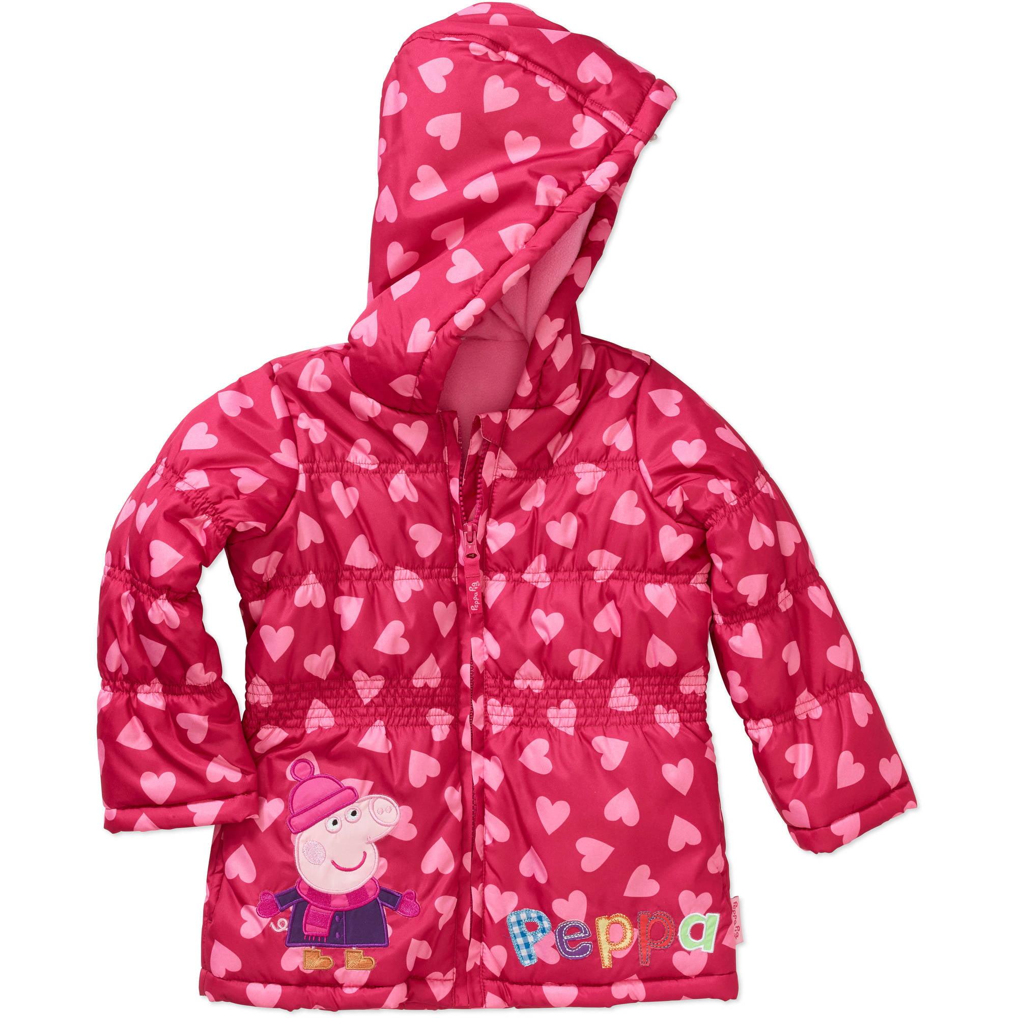 Peppa Pig Toddler Girl Puffer Jacket