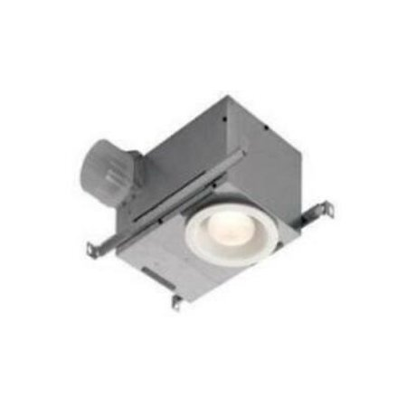 BROAN-NUTONE 744FLNT 70 CFM Recessed Fluorrescent Fan and Light, White