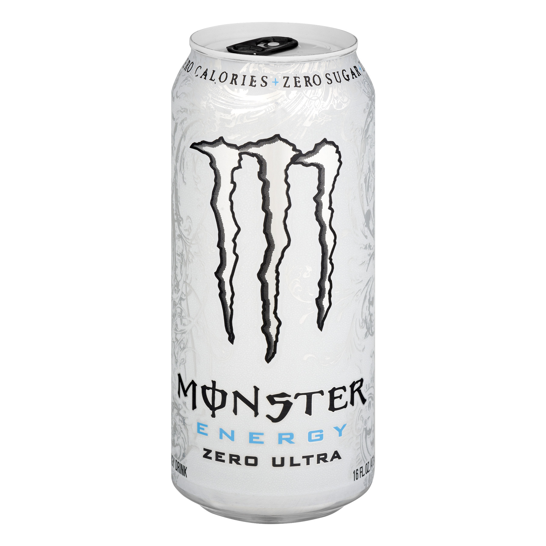 Monster Energy Zero Ultra Energy Drink, 16 fl oz - Walmart.com