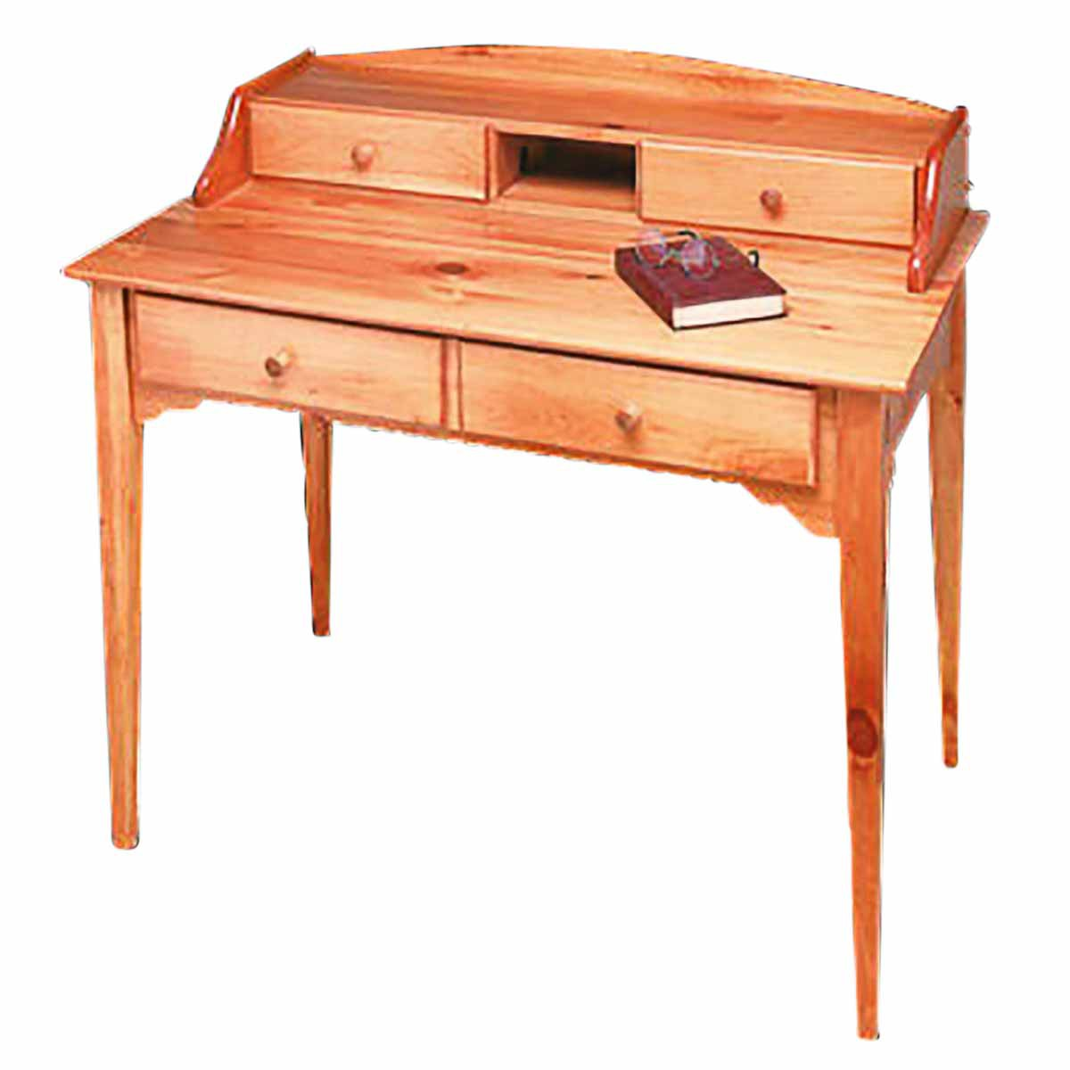 Desk Mission Honey Solid Pine Desk | Renovator's Supply