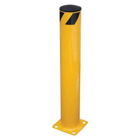 Vestil BOL-48-5.5 Steel Pipe Safety Bollard, 48 x 5.5 in. ()