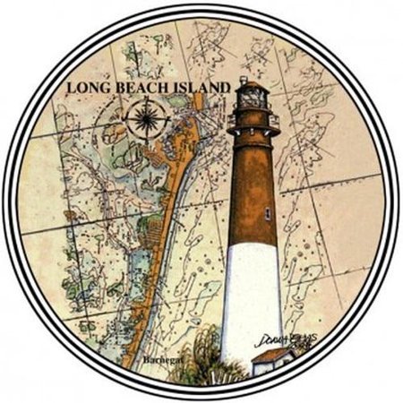 Coasterstone Long Beach Island, NJ Drink Coasters ()