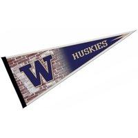 "Washington Huskies 12"" X 30"" Felt College Pennant"