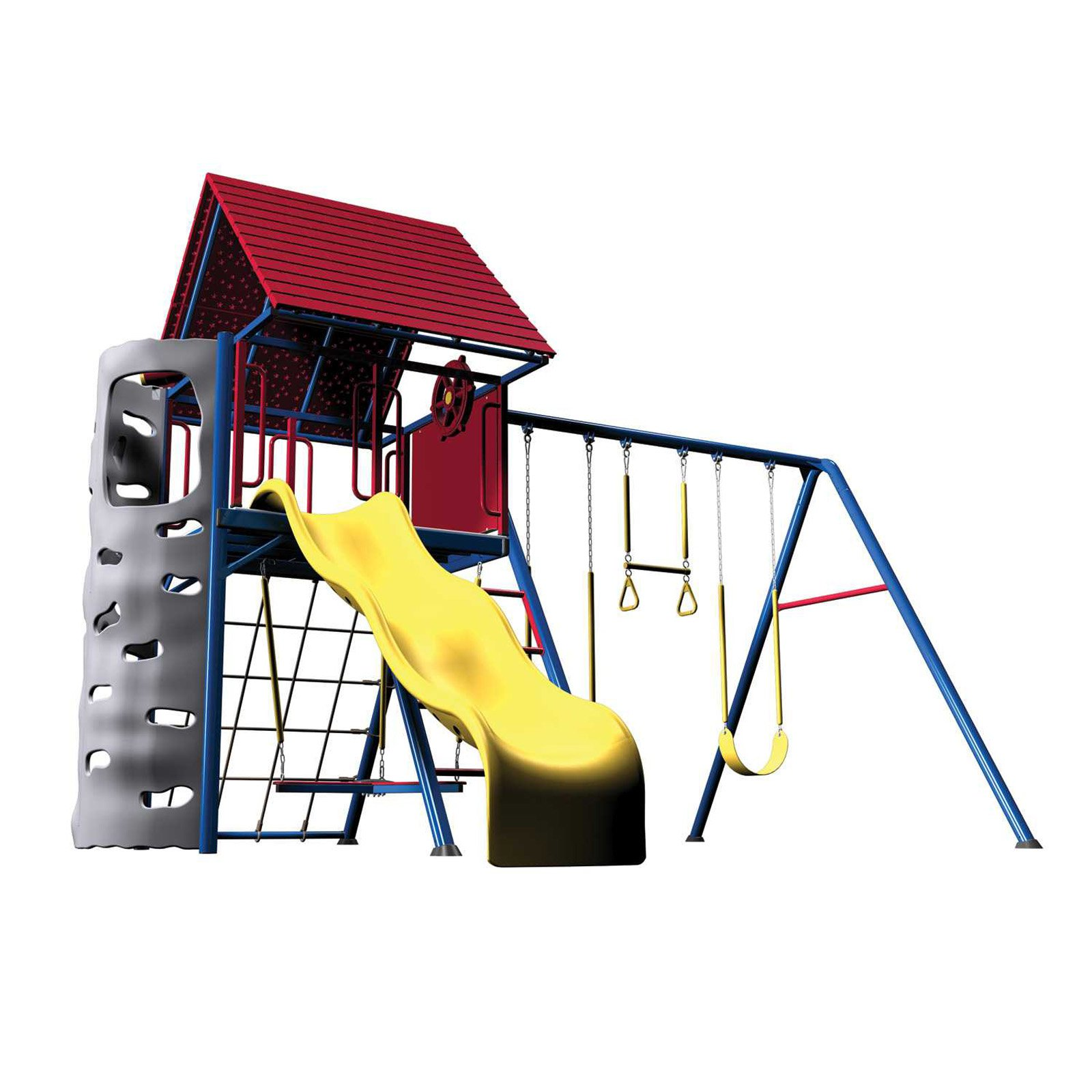 Lifetime A-Frame Metal Swing Set - Walmart.com