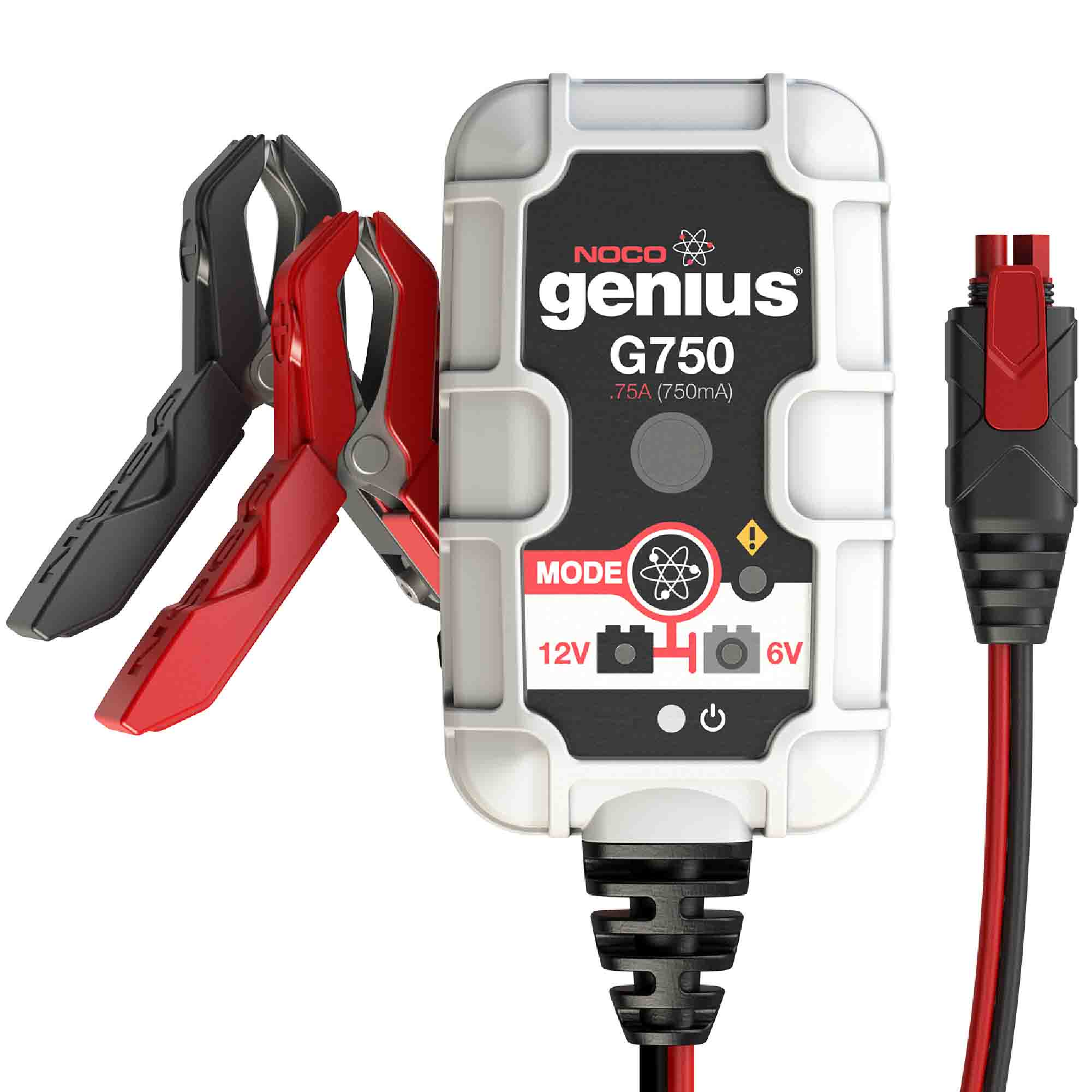 NOCO Genius G750 6V12V .75 Amp Battery Charger and Maintainer
