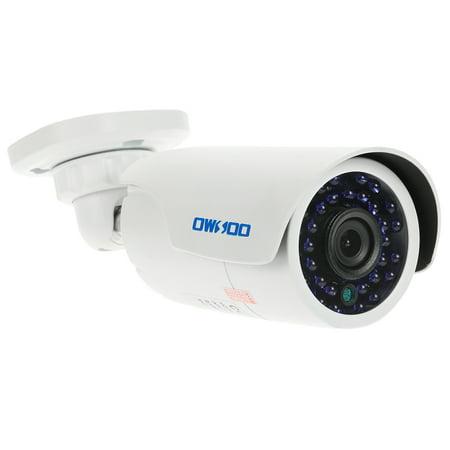 OWSOO 1500TVL 720P AHD Bullet Waterproof CCTV Camera 1.0MP 3.6mm 1/4'' CMOS 30 IR LEDs Night Vision IR-CUT Indoor Outdoor Security NTSC -