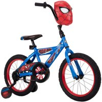 Deals on Marvel Spider-Man 16-inch Boys Bike for Kids by Huffy