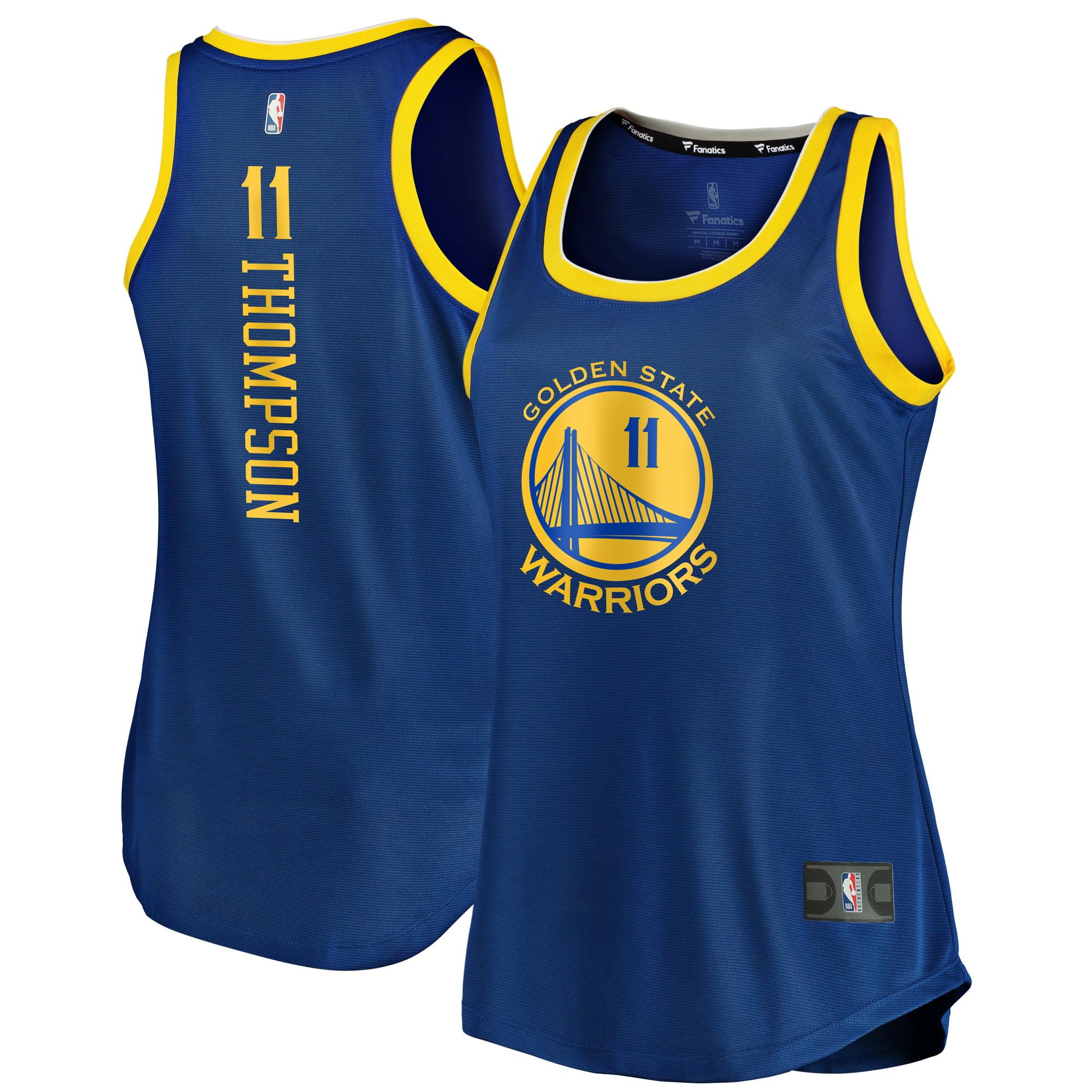 Klay Thompson Golden State Warriors Fanatics Branded Women's Fast Break Tank Jersey - Icon Edition - Royal