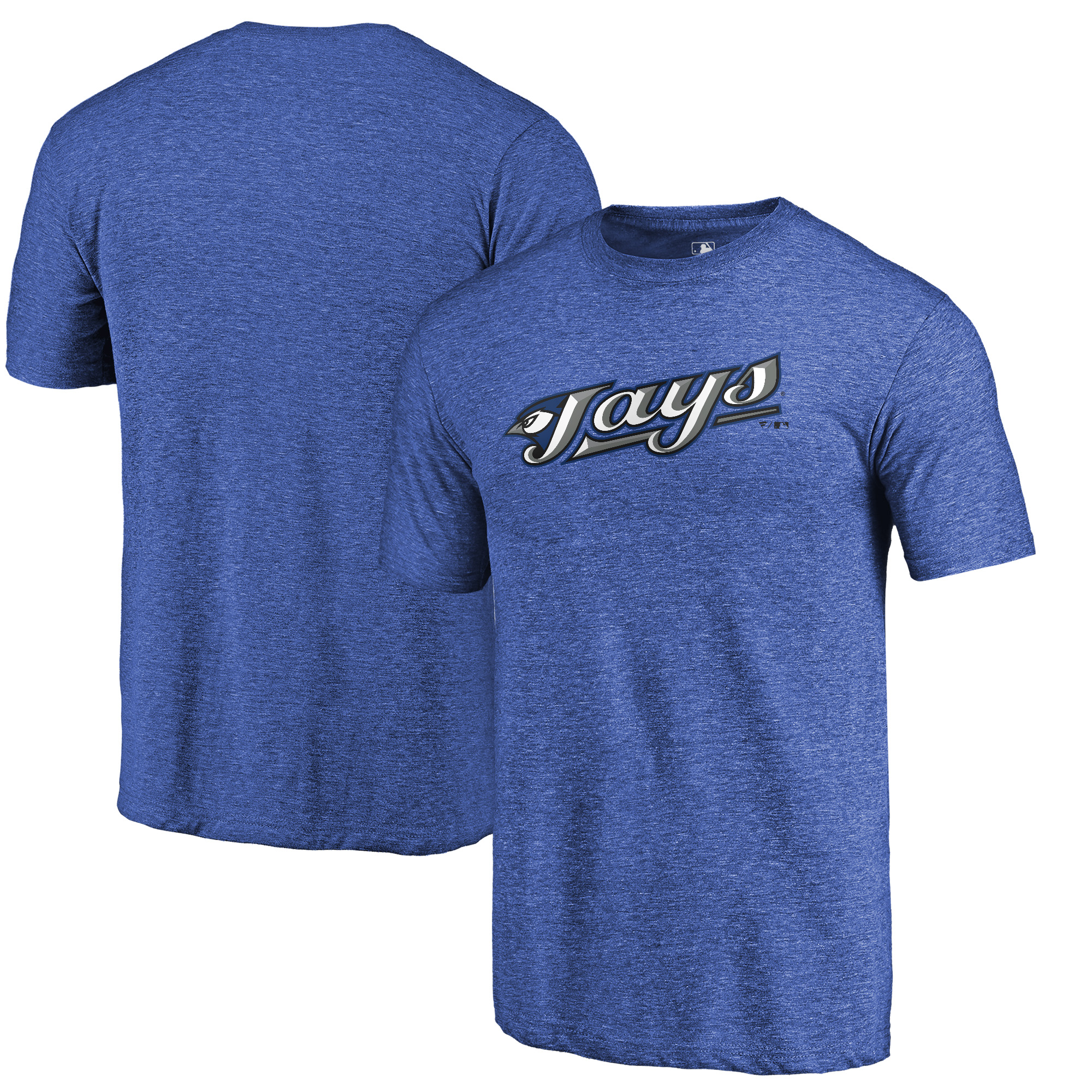 Toronto Blue Jays Fanatics Branded Vintage Cooperstown Collection Wahconah Tri-Blend T-Shirt - Royal