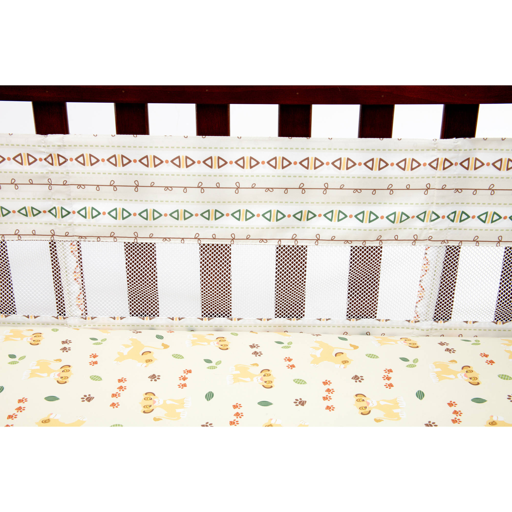 The Disney Lion King Under the Sun Secure-Me Crib Liner