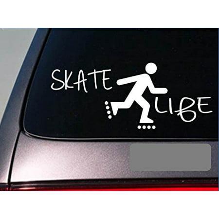 Roller Skate Decorations (Skate Life *E236* roller inline skates rollerskates blade Decal Vinyl)