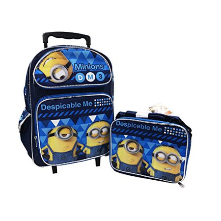 e7a7b39dd728 Despicable Me 3 16in Backpack and Lunch Box | Walmart Canada