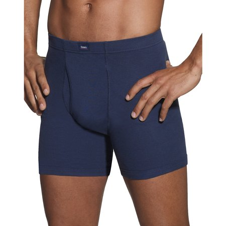 Hanes Mens Classics 5 Pack Comfort Soft Waistband Boxer Brief Assorted Colors