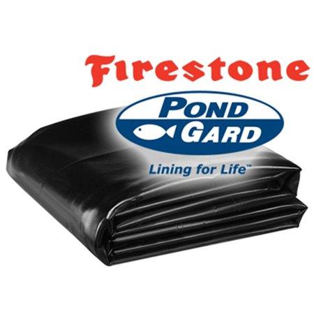 Firestone 45 Mil EPDM Pond Liner size 10