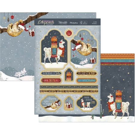 Hunkydory Christmas Elegance Luxury A4 Topper Set - image 1 de 1