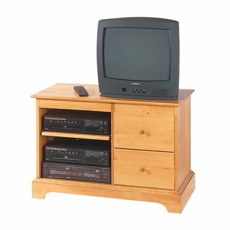 Entertainment Console Heirloom Pine Kit 25″H   Renovator's Supply