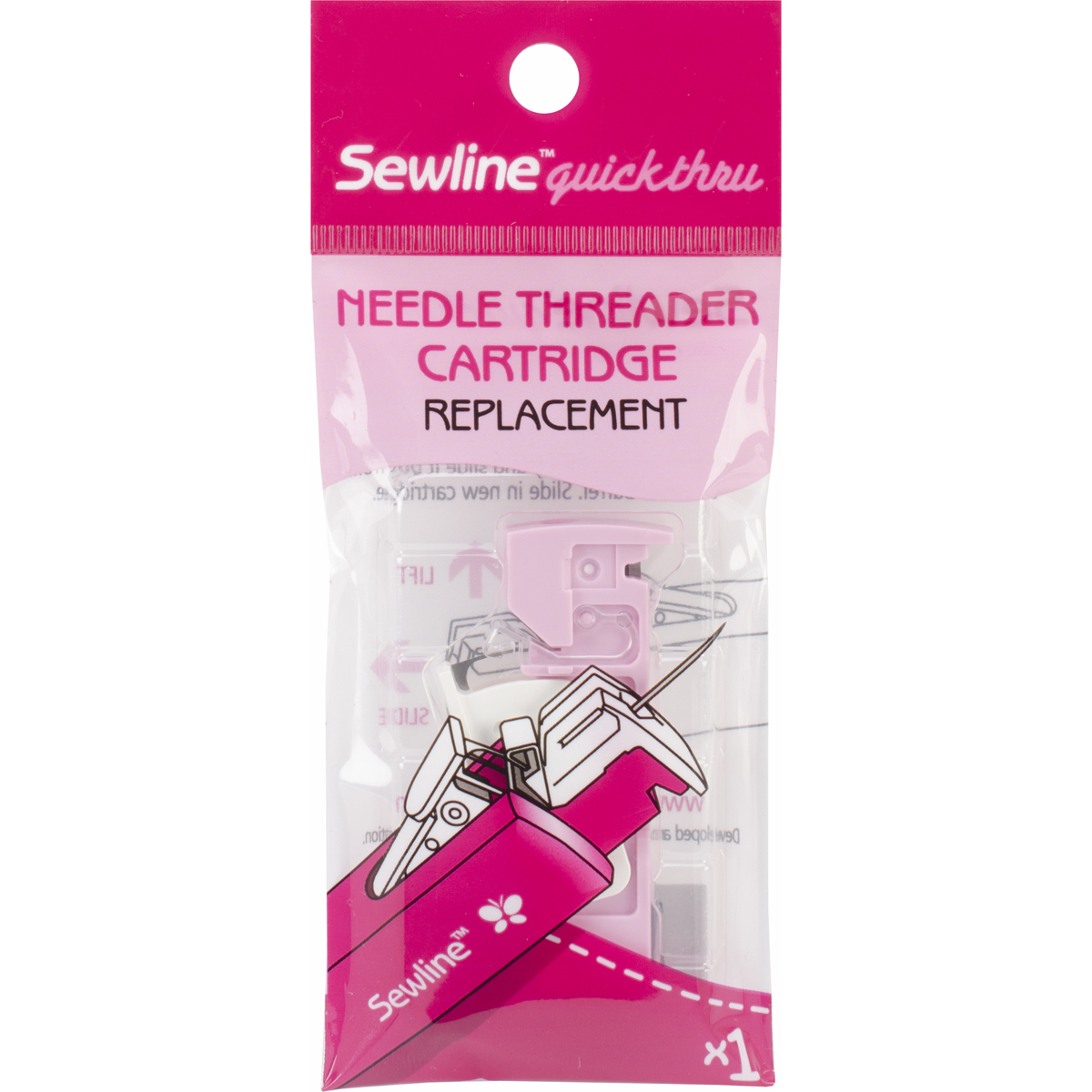 Sewline Needle Threader Cartridge Replacement-