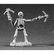 Reaper Miniatures Skeleton #02210 Dark Heaven Legends Unpainted Metal RPG Figure