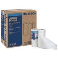 Tork HB1990A CPC 11 x 9 in. Universal Perforated Paper Household Roll Towel, White - Case of 30