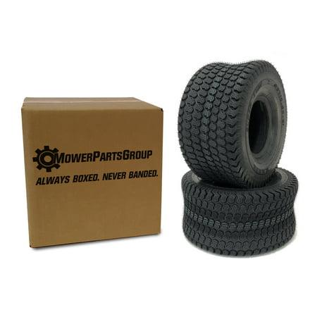 (2) 20x10.50-8 Kenda K500 Super Turf 4Ply Tires Scag 484057 Exmark Toro (Super Turf Tire)