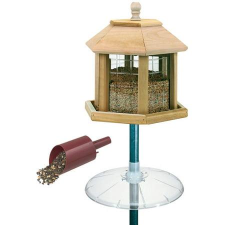 Heath Outdoor Products Grand Gazebo Wild Birdfeeder Combo