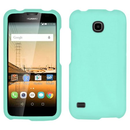 NEW MINT RUBBERIZED HARD SHELL PROTEX CASE COVER FOR HUAWEI UNION Y538 PHONE Virgin Mobile, Boost Mobile) ()