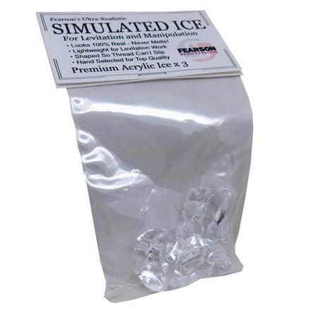 fearson fake ice for levitation and manipulation (Large Fake Ice Blocks)