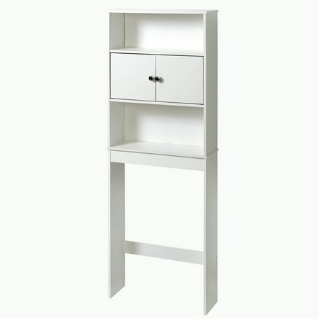 Mainstays Wood Space Saver, White