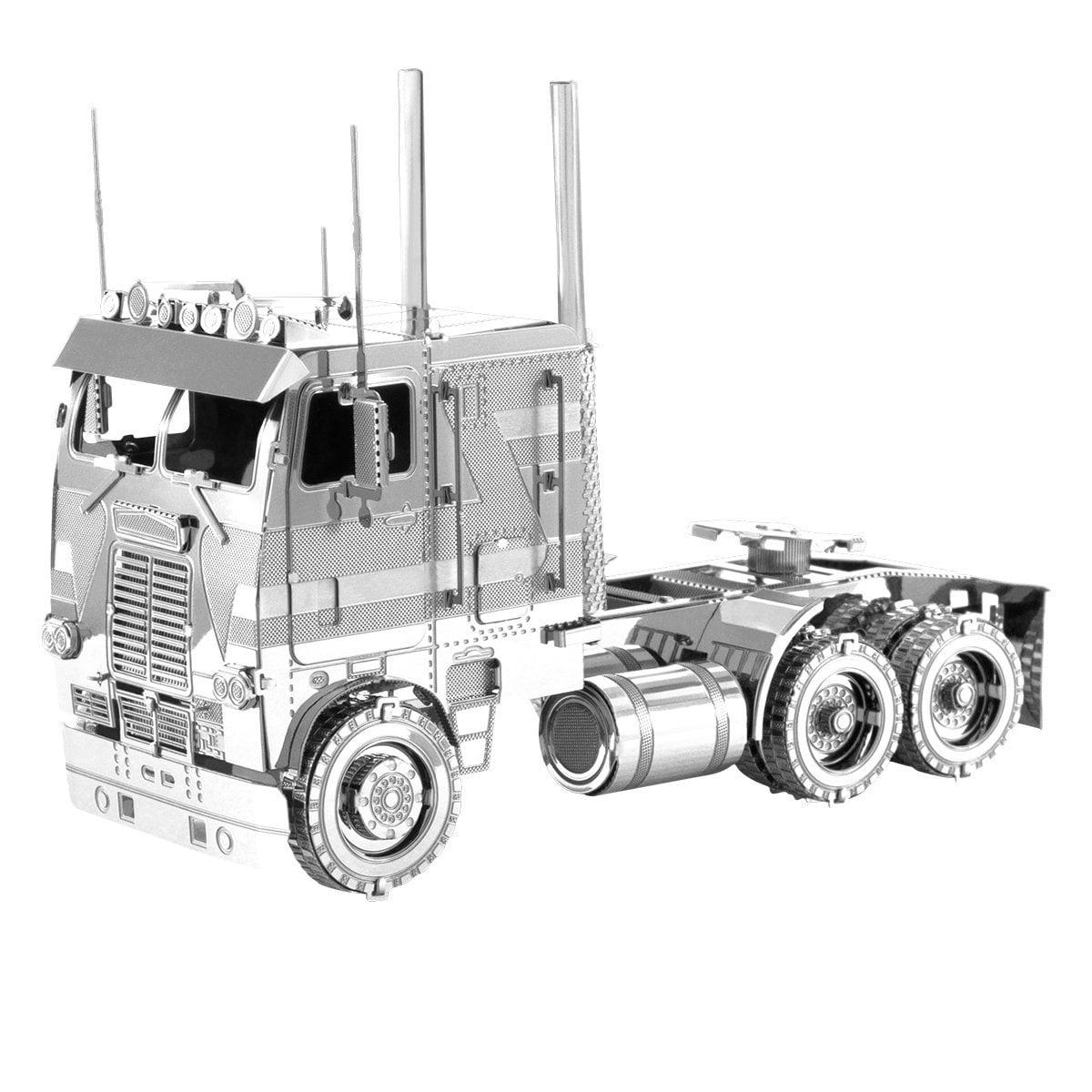 Fascinations Metal Earth Freightliner COE Truck 3D Metal Model Kit